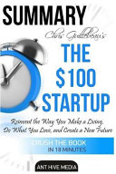 Chris Guillebeau s the  100 Startup