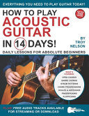 How to Play Acoustic Guitar in 14 Days Book