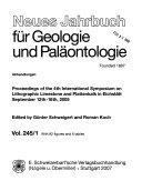 Neues Jahrbuch f  r Geologie und Pal  ontologie Book