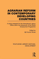 Agrarian Reform in Contemporary Developing Countries