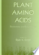 Plant Amino Acids Book