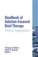 Handbook of Solution Focused Brief Therapy