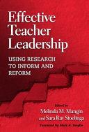 Effective Teacher Leadership