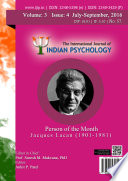 The International Journal Of Indian Psychology Volume 3 Issue 4 No 57