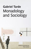 Monadology and Sociology Pdf/ePub eBook