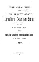 Annual Report of the New Jersey State Agricultural Experiment Station