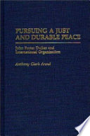 Pursuing a Just and Durable Peace