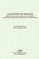 Augustine On Romans