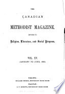 The Canadian Methodist Magazine Book