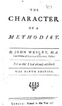 The Character of a Methodist ... The Ninth Edition