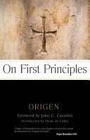 On First Principles Book