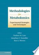 Methodologies For Metabolomics Book PDF