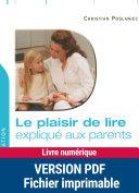 Le plaisir de lire expliqué aux parents Pdf/ePub eBook