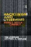 Hacktivism and Cyberwars Pdf