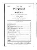 Playground and Recreation