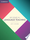 Books - Key Issues In Language Teaching | ISBN 9781107456105