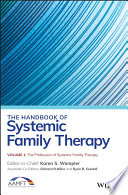 The Handbook of Systemic Family Therapy  The Profession of Systemic Family Therapy