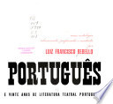 Teatro português  : uma antologia seleccionada , Volume 2, Issue 1