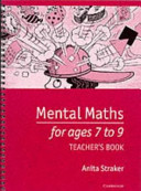 Mental Maths for Ages 7 to 9