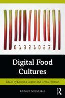 Pdf Digital Food Cultures Telecharger