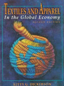 Textiles and Apparel in the Global Economy Book