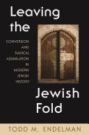 Leaving the Jewish Fold