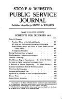 Stone Webster Journal Book PDF