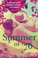 Summer of '76 Pdf/ePub eBook