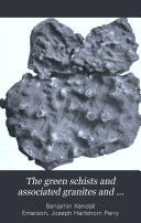 The Green Schists and Associated Granites and Porphyries of Rhode Island