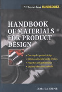 Handbook Of Materials For Product Design Book PDF