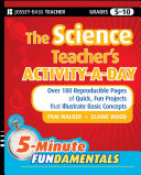 Pdf The Science Teacher's Activity-A-Day, Grades 5-10 Telecharger