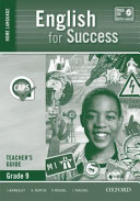 Books - English for Success Home Language Grade 9 Teachers Guide | ISBN 9780199047673