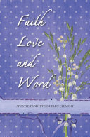 Faith Love and Word Book