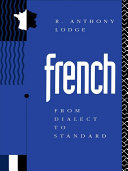 Pdf French: From Dialect to Standard Telecharger