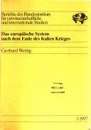 Berichte des Bundesinstituts f  r   stwissenschaftliche und Internationale Studien