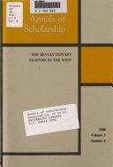 Annals of Scholarship