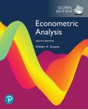 Econometric Analysis  EBook  Global Edition