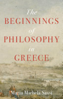 Pdf The Beginnings of Philosophy in Greece Telecharger