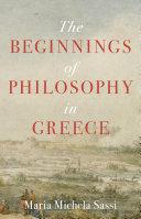 The Beginnings of Philosophy in Greece [Pdf/ePub] eBook