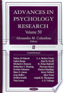 Advances in Psychology Research  Volume 50