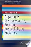 Organogels Book