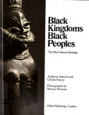Black Kingdoms Black Peoples
