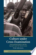 Culture Under Cross-Examination