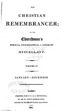 The Christian Remembrancer