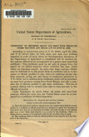 Inspection Of Imported Meats And Meat Food Products Under The Food And Drugs Act Of June 30 1906