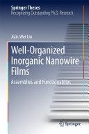 Well Organized Inorganic Nanowire Films