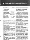 Data Processing Digest Book