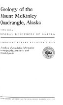 Geology of the Mount McKinley Quadrangle  Alaska
