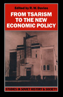 From Tsarism to the New Economic Policy