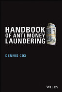 Handbook of Anti-Money Laundering